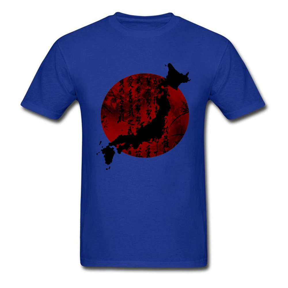 Japan Map T-Shirts Men Classic Tshirt Love Japan Purpose Tour T Shirt Top Quality Breathable Cotton 90s Clothing Tokyo - intl