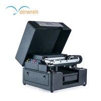 Низкая стоимость личного Индивидуальные УФ-принтер автоматический uv printig машина AR-LED mini6 с A4 Размеры