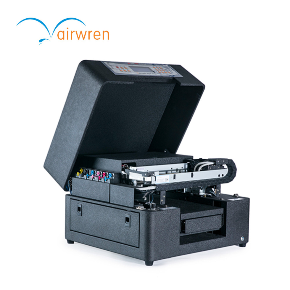 Low Cost Personal Customized Uv Printer Automatic Uv Printig Machine AR-LED Mini6 With A4 Size