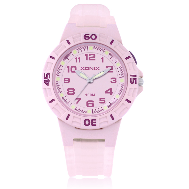 Girls Sports Quartz Watches Waterproof 100m  Fashion Women Sports Watch Child Sports Watch EL  Light  Relogio Masculino YE