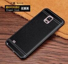 Per il caso di Samsung Galaxy Note 4 Note4 SM N910F SM N910P SM N910C SM N910G N910u N910W8 N910F N910C N910G Morbido Custodie