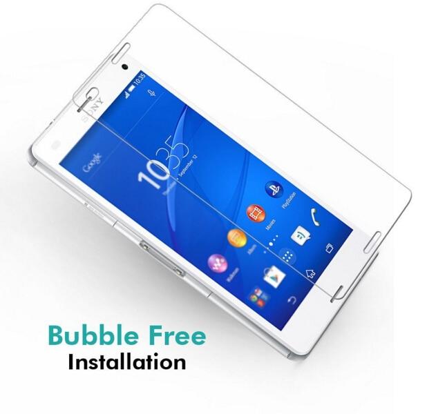 Skärmskydd härdat glas sFör Sony Xperia Z3 Compact Glass Film De - Reservdelar och tillbehör för mobiltelefoner - Foto 4