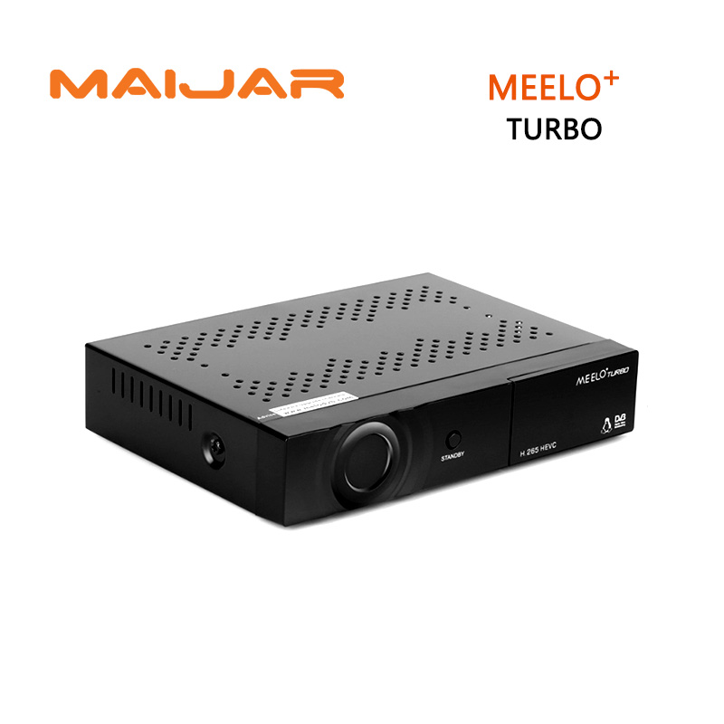 5pcs H.265 DVB-S2/C/T2 Linux Satellite Receiver ME ELO+Turbo AVS+ 7 Segment - 4 Digits Display Cccam NewCam IPTV PVR CAS meelo turbo dvb s2 c t2 linux iptv satellite receiver 7 segment 4 digits display processor 256mb flash 512mb ddr vs meelo one