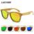 2017 new productos de moda mujeres cristal de bambú gafas de sol au retro vintage lente marco de madera hecho a mano de madera gafas de sol polarizadas
