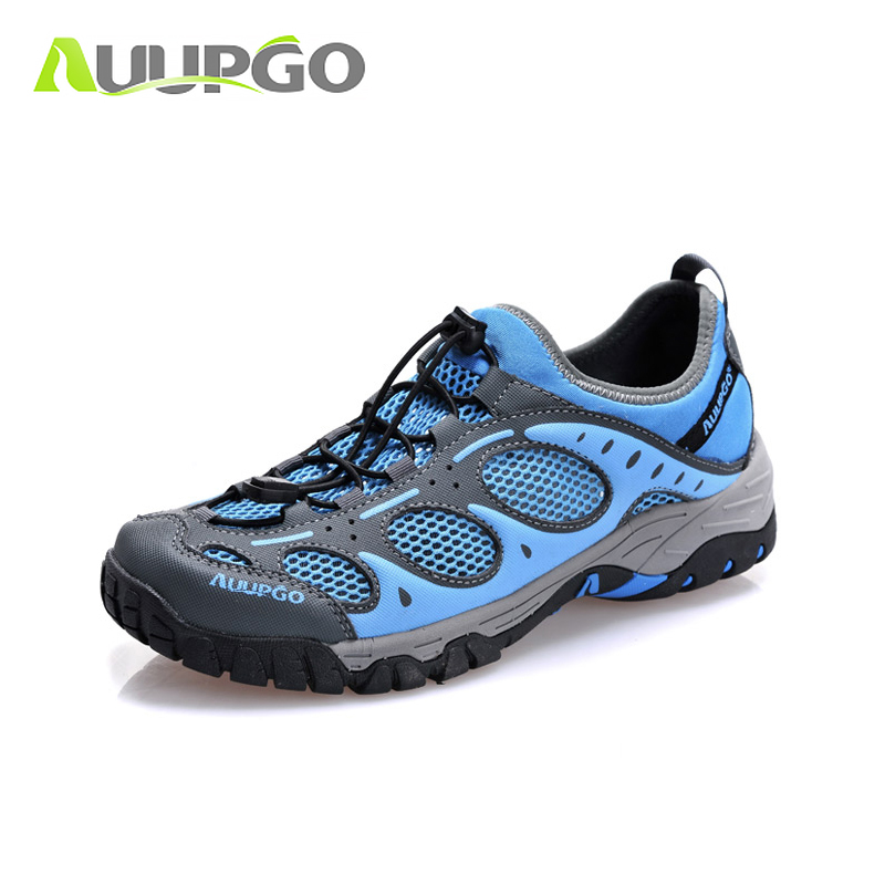 b7a9107add5f 2016 New Breathable Outdoor Trekking Shoes Men and Women Men Sneakers  Outdoor Hiking Shoes Man Quick