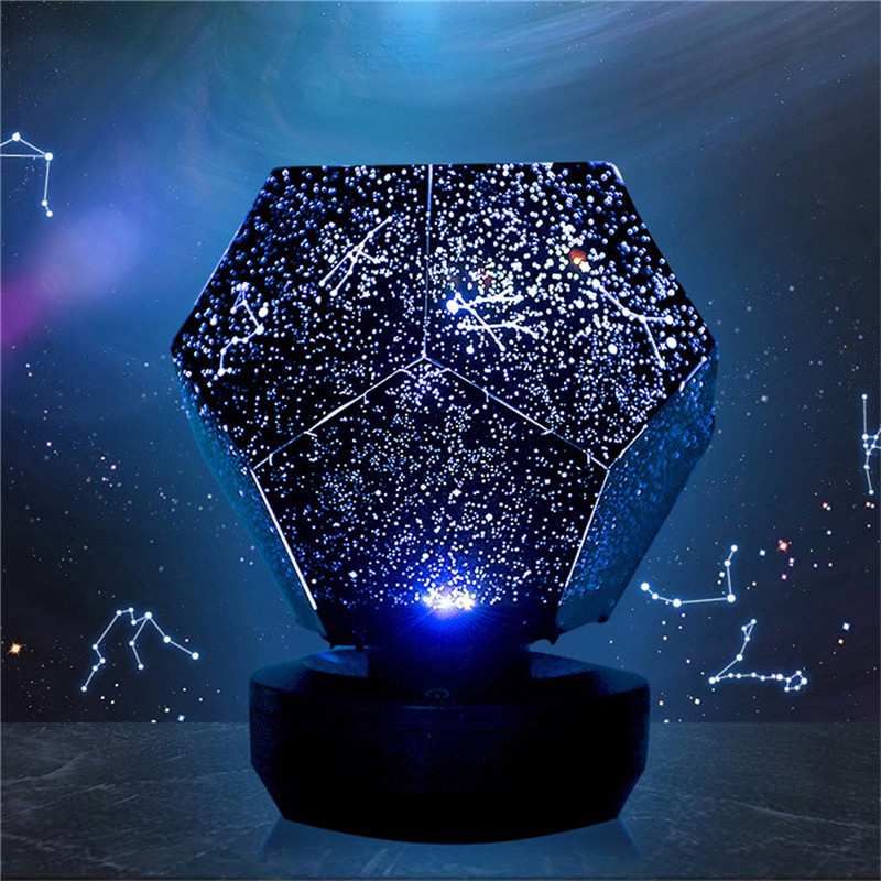 Rotating Play Starry Sky Projection Lamp Stars Romantic Starry Lights How long have you not looked up at the beautiful starrysky