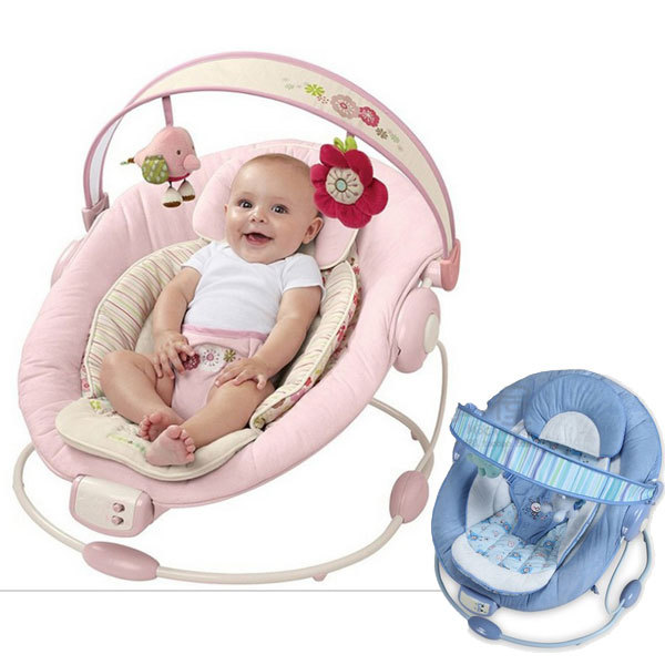 909563be492 Baby electric vibration rocking chair portable baby swings music bouncers  toddler cradle rocking chairs
