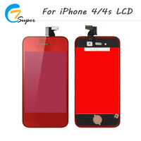 1PCS 100 Guarantee No Dead Pixel For IPhone 4 4s Mirror LCD Display Touch Screen With