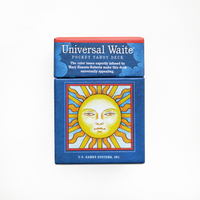 Universal Waite Pocket Tarot English version 78pcs/set playing card tarot board game card