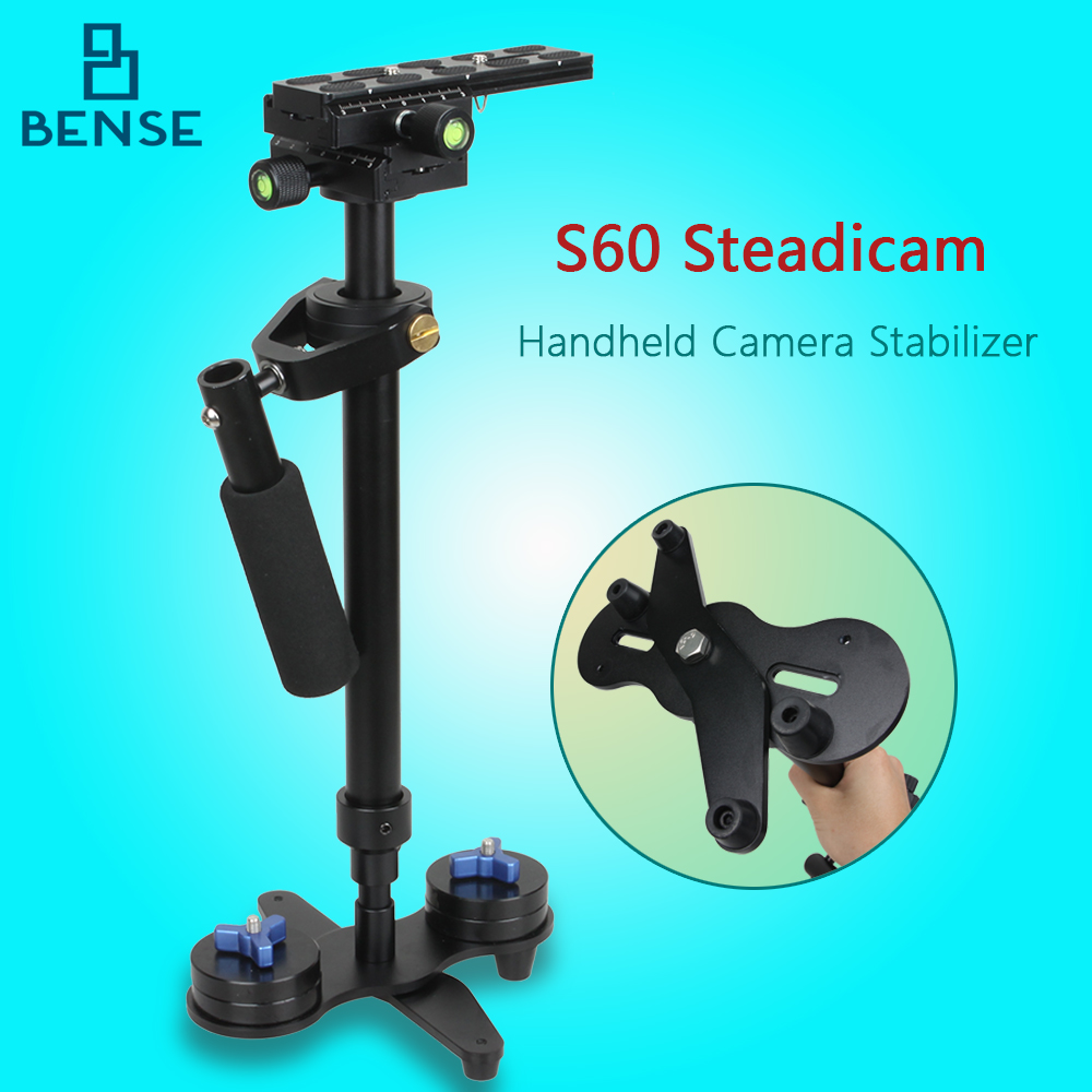 ФОТО NEW Steadicam s60 handheld camera stabilizer,steadycam video steady DSLR estabilizador cameras Compact Camcorder