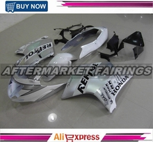 WHITE-REPSOL Aftermarket OEM Level ABS Plastic Fairing kits For Honda Black bird CBR1000xx With OEM Fitment