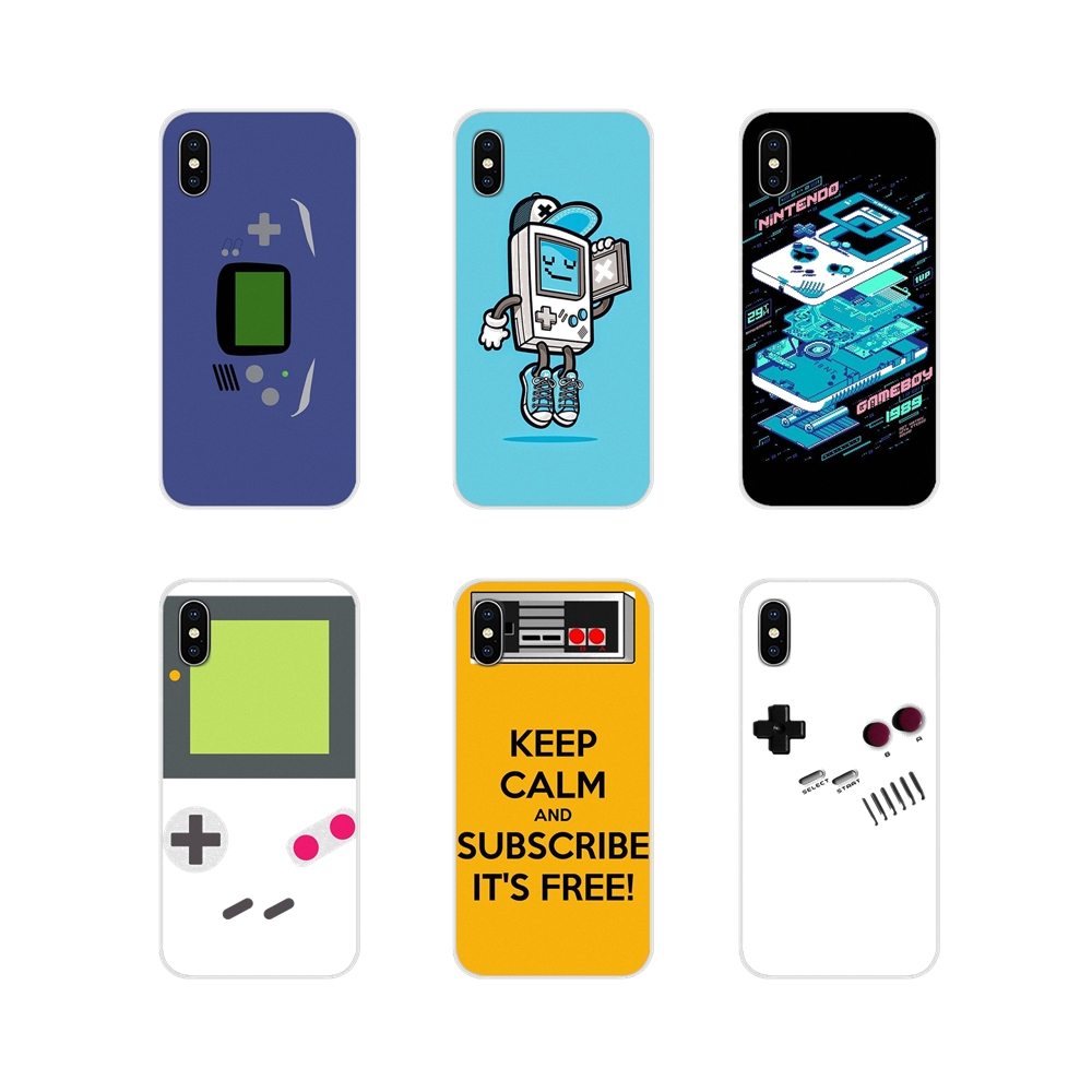 Fashion Style Diy Painted Phone Accessories Case Gameboy Game Boy Gb Original For Xiaomi Redmi Note 2 3 4 4a 4x 5 5a 6 6a Plus Pro S2 Y2 Half-wrapped Case Cellphones & Telecommunications