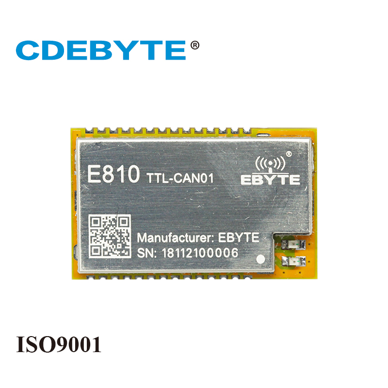 E810-TTL-CAN01 UART TTL To CAN-BUS Wireless Transceiver CAN Protocal Modbus 3.3V 5V IoT RF Module