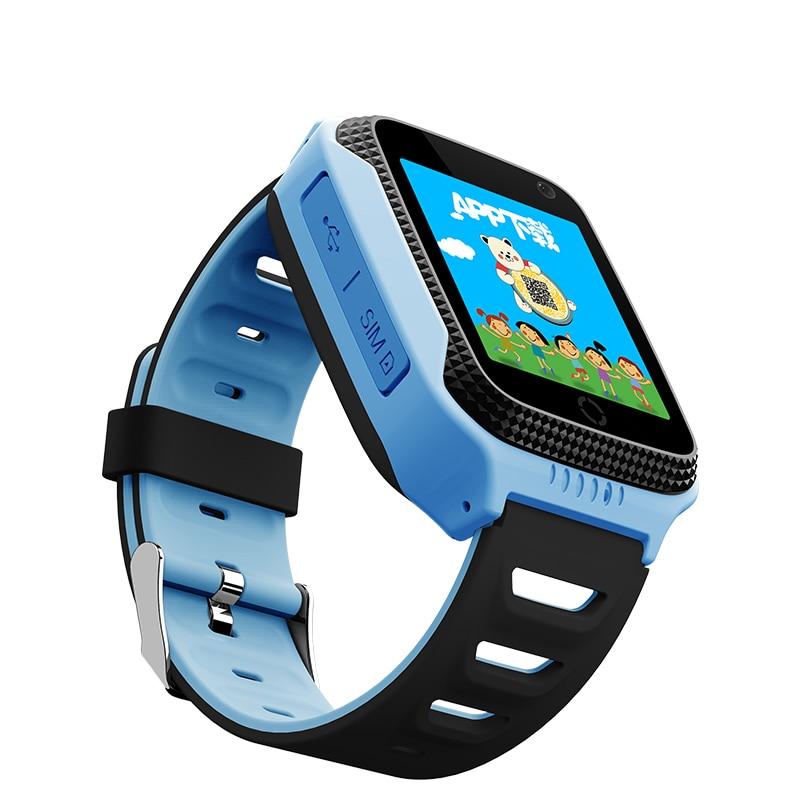 GPS Smart Watch детские часы q528 с Камера фонарик SOS вызова расположение устройства трекер для малыша безопасный анти-потерянный Мониторы PK Q90