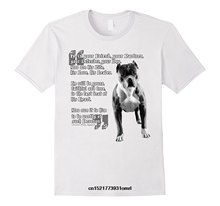 3d568d5f82 Men t shirt Friendly pitbull poem shirt for pit bull lovers t-shirt novelty  tshirt