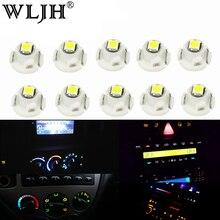 цена на WLJH 10x Neo Wedge Led Light 90010-01122 AC Heater Control Bulb for Toyota Corolla 2009-2013;RAV4 2006-2012;for Matrix 2009-2014