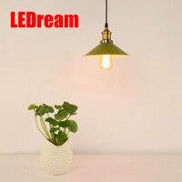 Оптовая продажа Новые Промышленное Освещение E27 Медь лампа держатель подвесной светильник американский проходу огни Эдисон лампы 110 В-220 В