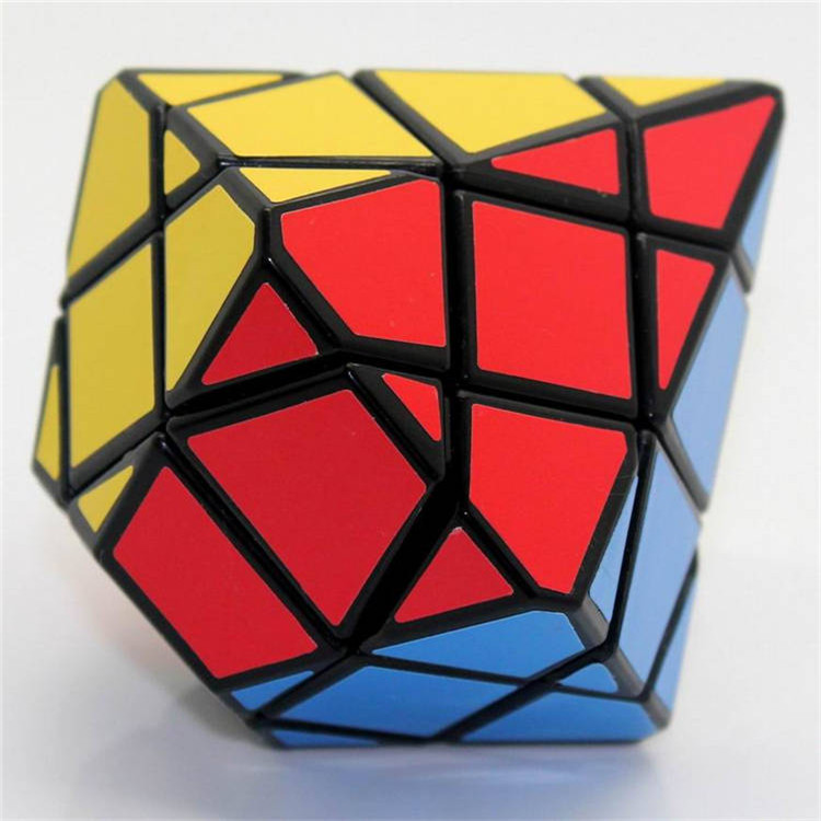 Original Diansheng Diamond Hexagonal Dipyramid Stone Axis 3x3x3 Shape Mode Magic Cube Puzzle Education Toys For Kids Magico Cubo