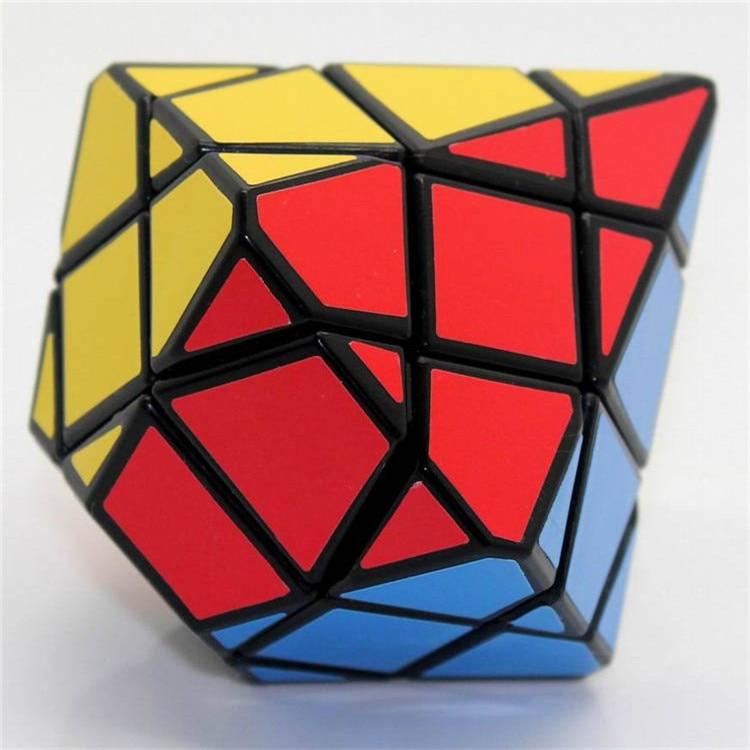 Original Diansheng Diamond Hexagonal Dipyramid Stone Axis 3x3x3 Shape Mode Magic Cube Puzzle Education Toys For Kids Magico Cubo