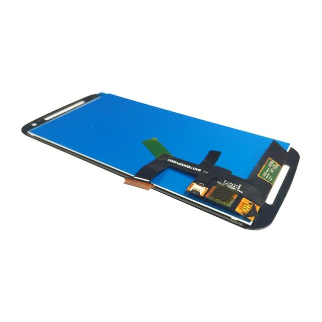 Para motorola moto g2 xt1063 xt1068 xt1069 display lcd de toque digitador da tela + ferramentas, preto Frete grátis