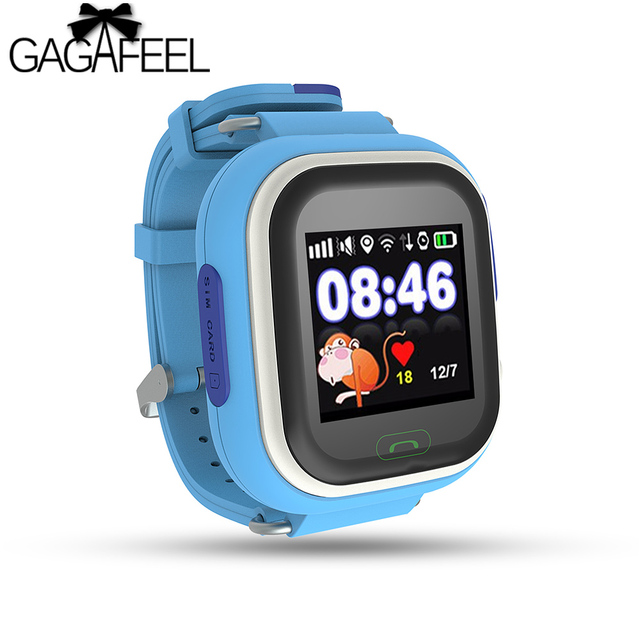 Fashion Kids Smart Watches GPS Tracker Children Smart Watch Dial Call Location Finder Device Anti Lost Monitor for Boys Girls
