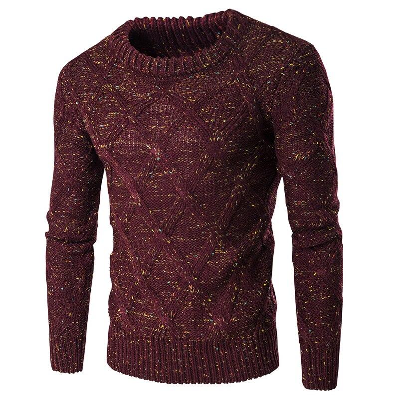 Mode homme pull pull à tricoter Slim Fit mode coton pull chaud Polo chandail marque hommes sous-vêtements en gros S2370