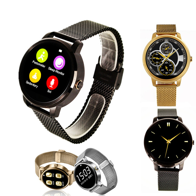 New V360 Smart Watch for Apple iPhone Huawei Android ios Smartwatch with Siri function update DM360 support Dutch Hebrew T5 2016 update gv08 smart watch 15 inch 2mp