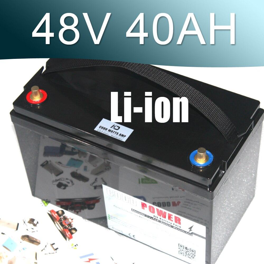 Batterie au Lithium-ion Ebike 48 V 3000 W batterie étanche vélo électrique 48 v