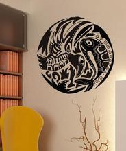 Casa decoración de la pared de vinilo pesca Hobby de La etiqueta engomada Mural regalo etiqueta papel pintado Interior 2KN11