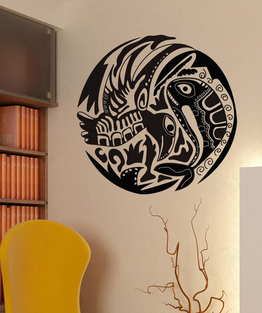 Home Decor Vinyl Wall Decal Fishing Hobby Sticker Mural Unique Gift Decal Interior Wallpaper 2KN11-in Wall Stickers from Home & Garden