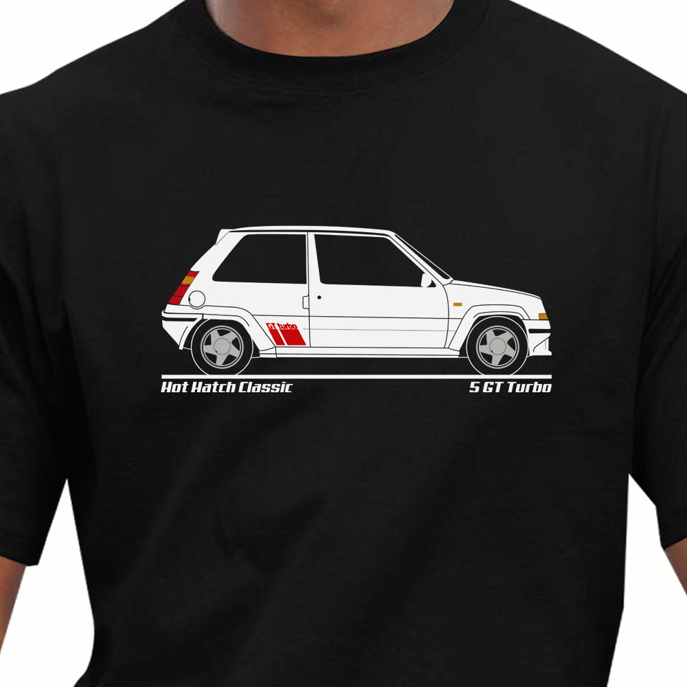 2018 New Fashion Brand Print T-Shirt Male Brand Hot Hatch Classic - Retro 5 Gt Turbo Inspired T Shirts Classic Tops Tee Shirts
