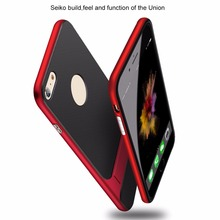OLLIVAN For Iphone X Case Luxury Kickstand TPU + PC Full Cover Protection Case for iPhone 7 Plus Cases 6 6S Coque Caphina Capa