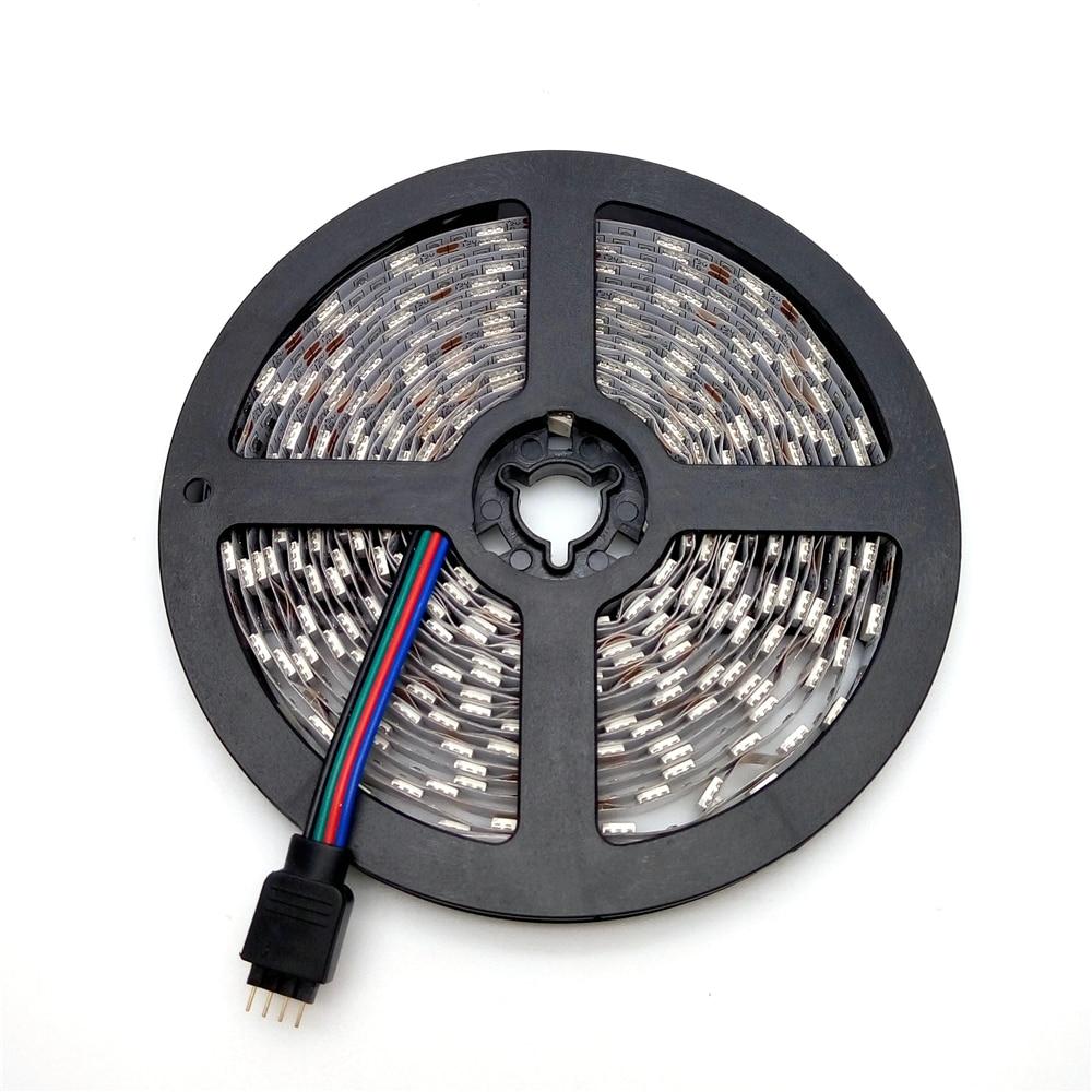 LED juostelės šviesa 5050 RGB 5M 300LED lanksčios juostelės - LED Apšvietimas - Nuotrauka 3