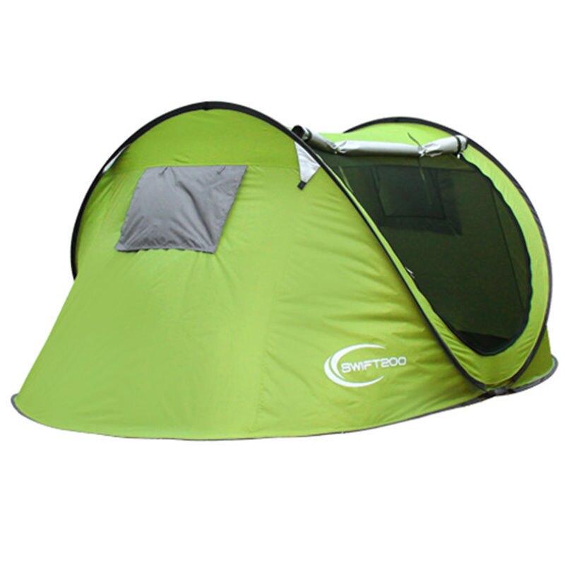 Nouveauté 2-3 personnes automatique confortable Pop Up Camping équipement plage tente Barraca Camping tente Pop Up tente