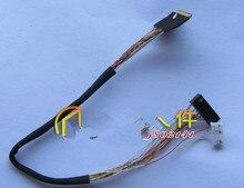 Бесплатная доставка! 2 шт. I-PEX 20453-20455 40 P один 6 экран LVDS линии светодиодный экран кабеля