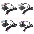 New 1pcs Mini 3.5mm Wired Microphone for Mobile Phone Tablet PC Laptop Speech Sing Rose Red Wholesale