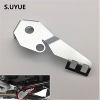 Motorcycle Stainless Steel Sidestand Side Stand Switch Guard Cover Fit For BMW R1200GS LC 2014 2015