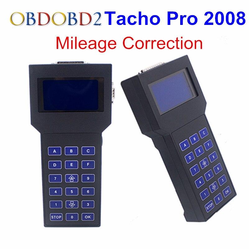 Sbloccato Tachi Pro 2008 di Correzione Dell'odometro Tacho2008 Programmatore del Precipitare di Tachi 2008 Programmatore Chilometraggio Strumento di Supporto Multi-lingua
