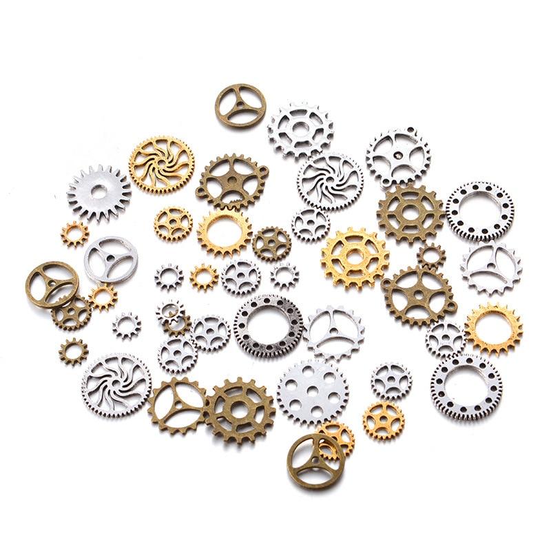 50g mechanical gear steampunk retro DIY handmade alloy jewelry accessories50g mechanical gear steampunk retro DIY handmade alloy jewelry accessories
