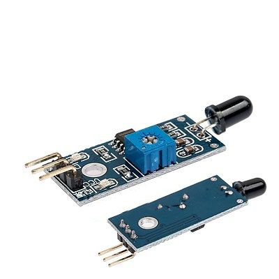 Doit Flammensensor-modul Wellenlänge 760nm-1100nm Lm393 Ir Flamme Temp Bord