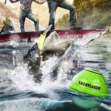 Lucky FF916 WiFi беспроводной рыболокатор Laker русский сонар Fishfinder приложение лучший более глубокий эхолот укуса сигнализация для глубины рыбалки