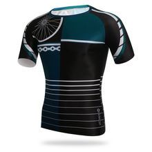 Men Outdoor Cycling Shirt Short Sleeve Quick Dry Clothing Fishing Hiking T-Shirt Running  Cycling Jersey UV Shirt