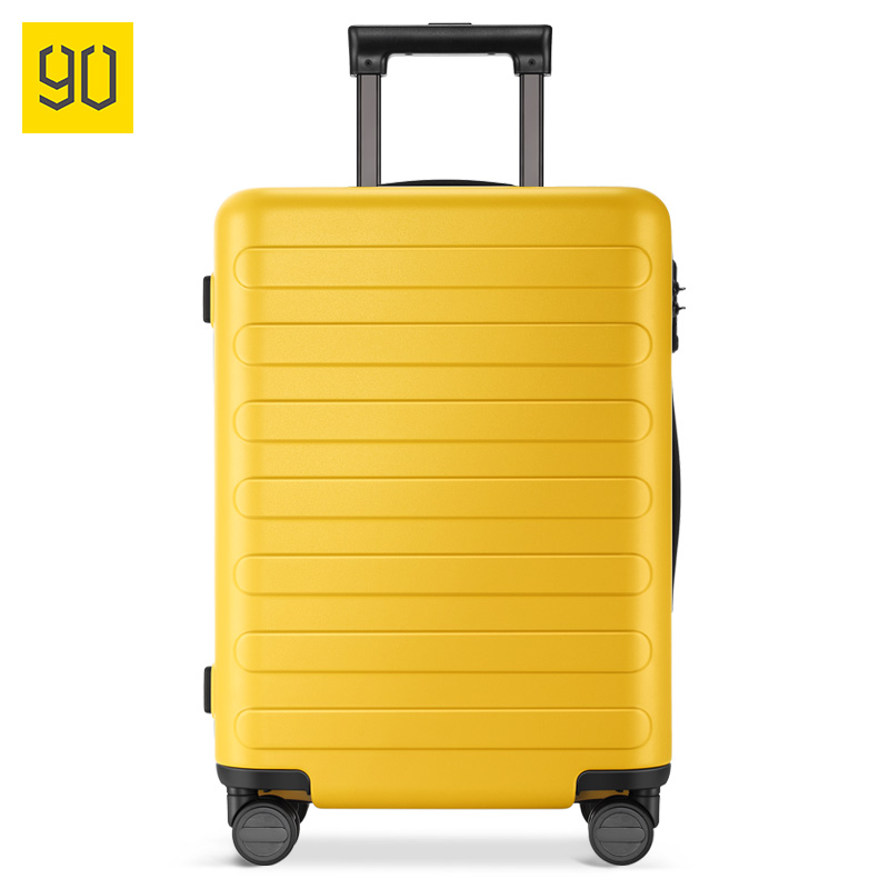 2018 XIAOMI 90FUN PC Suitcase Colorful Carry on Spinner Wheels Rolling Luggage TSA lock Business Travel Vacation for Women men 90fun