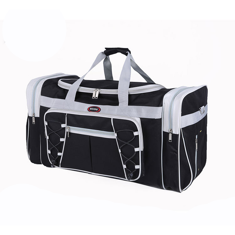New Large Leisure Travel Duffle Folding Trolley Women Men High capacity Handle Luggage Weekend Bags Multifunctional