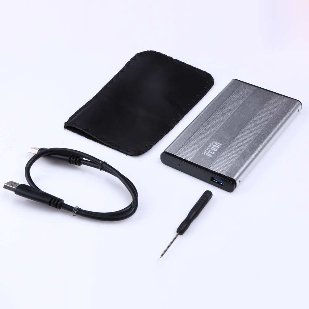 "2.5 ""דיסק קשיח SD SATA ל- USB 3.0 דיסק קשיח SSD SATA אחסון חיצוני מארז אחסון Caddy עבור Windows 7/8/10 / Vista / XP / 98 / ME / 2000"