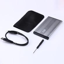 2.5″ HDD Case Sata to USB 3.0 Hard Disk SSD SATA External Storage Enclosure Box Caddy for Windows 7/8/10/ Vista/XP/ 98/ME/2000
