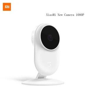 Image 1 - オリジナルシャオ mi mi mi 嘉 1080 1080p スマート Ip カメラ 130 度 2.4 グラム無線 Lan 10 メートル赤外線ナイトビジョン NAS mi c スピーカーセキュリティモニター