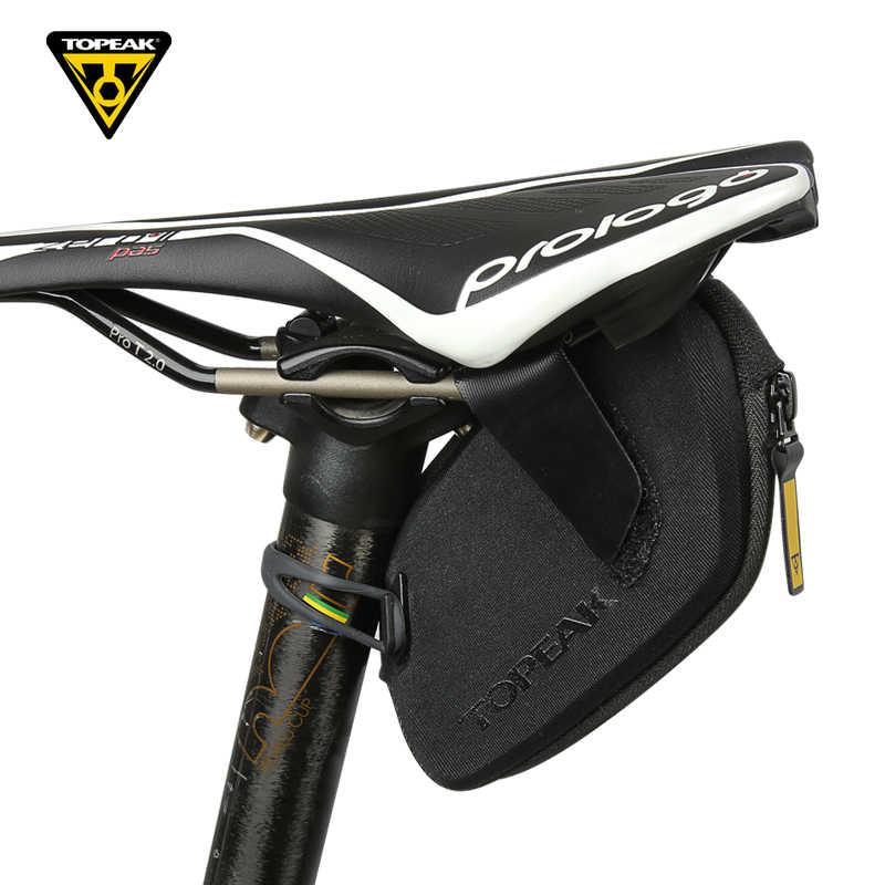 b1e0a8b42a1 Topeak DYNAWEDGE Bicycle Seatpost Pack Waterproof MTB Saddle Bag Cycling  Essential Storage Pannier Road Bike Rear