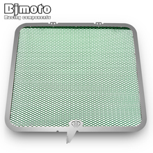 BJMOTO Motorcycle Front Radiator Guard Grill Grille Cover Protector For Kawasaki ZX6R 2013 2014 2015 2016 2017 2018 new stainless steel motorcycle accessories radiator guard cover grille grill fuel tank protector for r3 2015 2016 free shipping