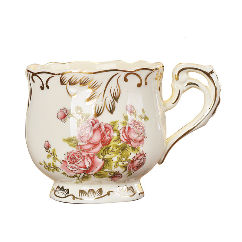 Грейс Классическая Дизайн Керамика Кофе кружка ослепительно фарфор Чай чашки для хороший подарок 250 мл